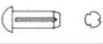 Штифт (заклепка) цилиндрический