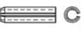 Штифт пружинный цилиндрический