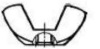Гайка-барашек, прямоугольные лепестки
