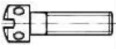 Винт с увеличенной цилиндрической головкой
