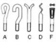 Болты анкерные форма А, форма В, форма D, форма F