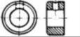 Кольцо установочное стальное с отверстием