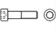 Винт c цилиндрической головкой